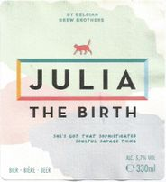 And Julia ? She's selling her own beers now.